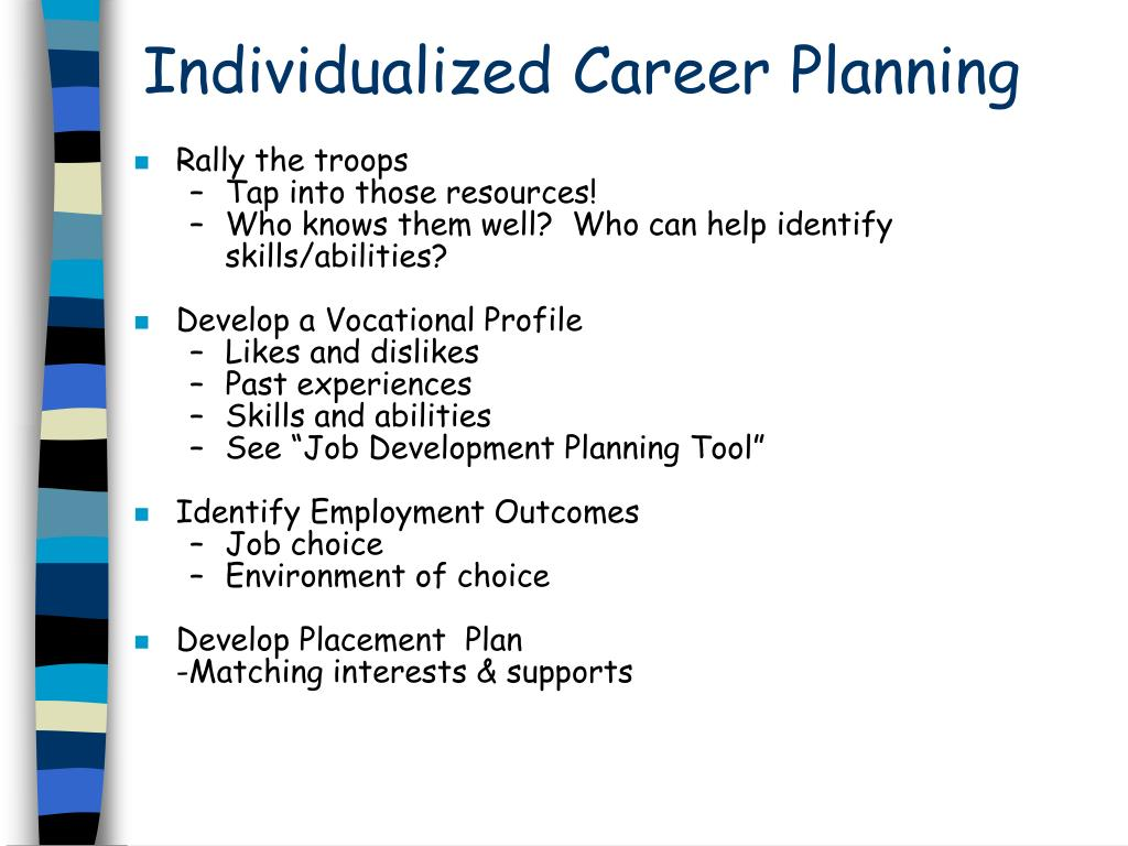 Individualized Career Planning