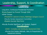 leadership support coordination
