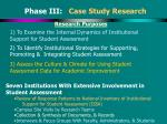 phase iii case study research