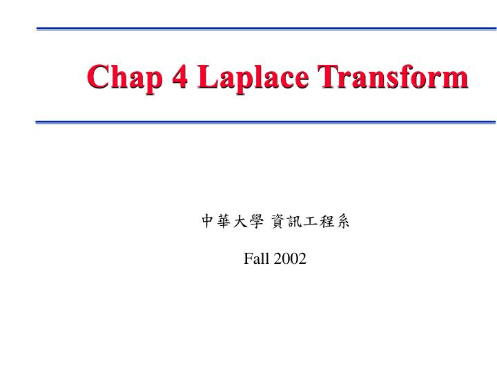 chap 4 laplace transform n.