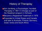history of theraplay