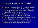 the basic assumptions of theraplay