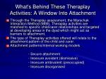 what s behind these theraplay activities a window into attachment