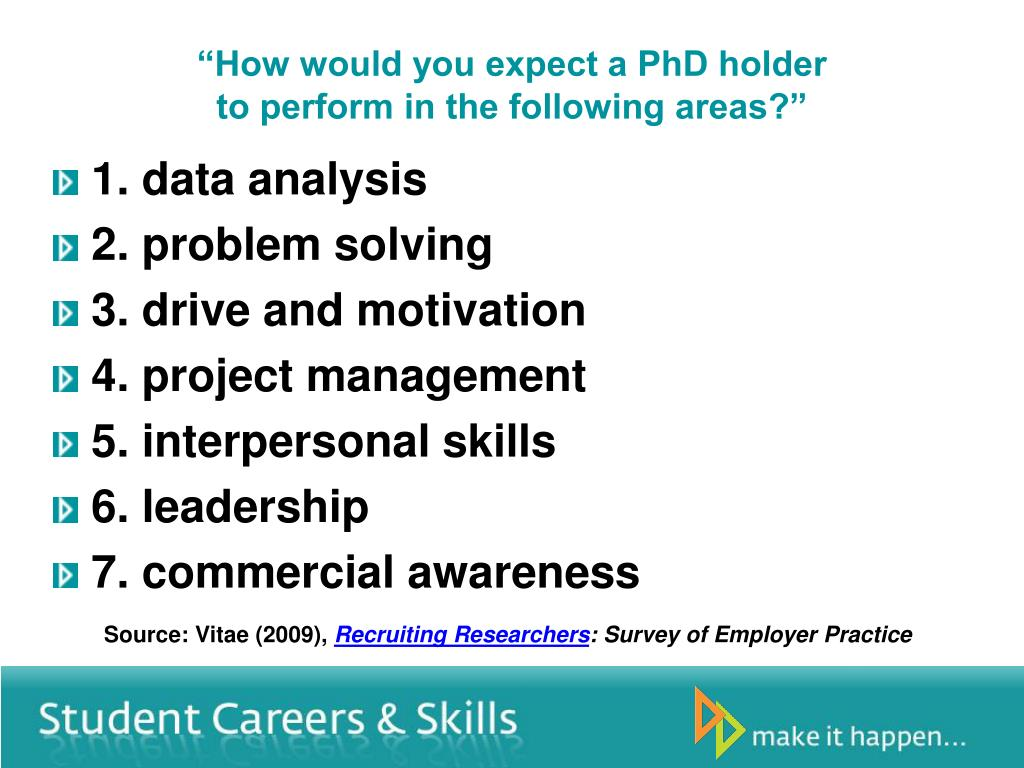 """""""How would you expect a PhD holder"""