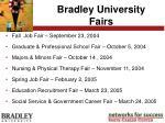bradley university fairs