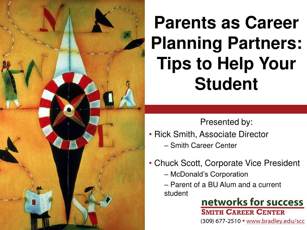 parents as career planning partners tips to help your student l.