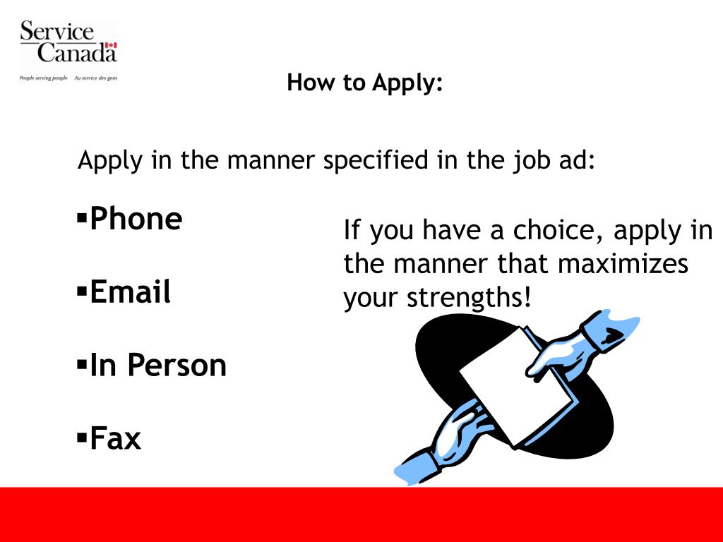 How to Apply: