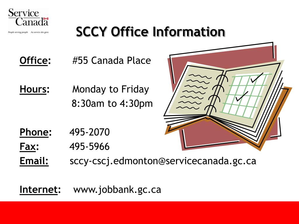 SCCY Office Information