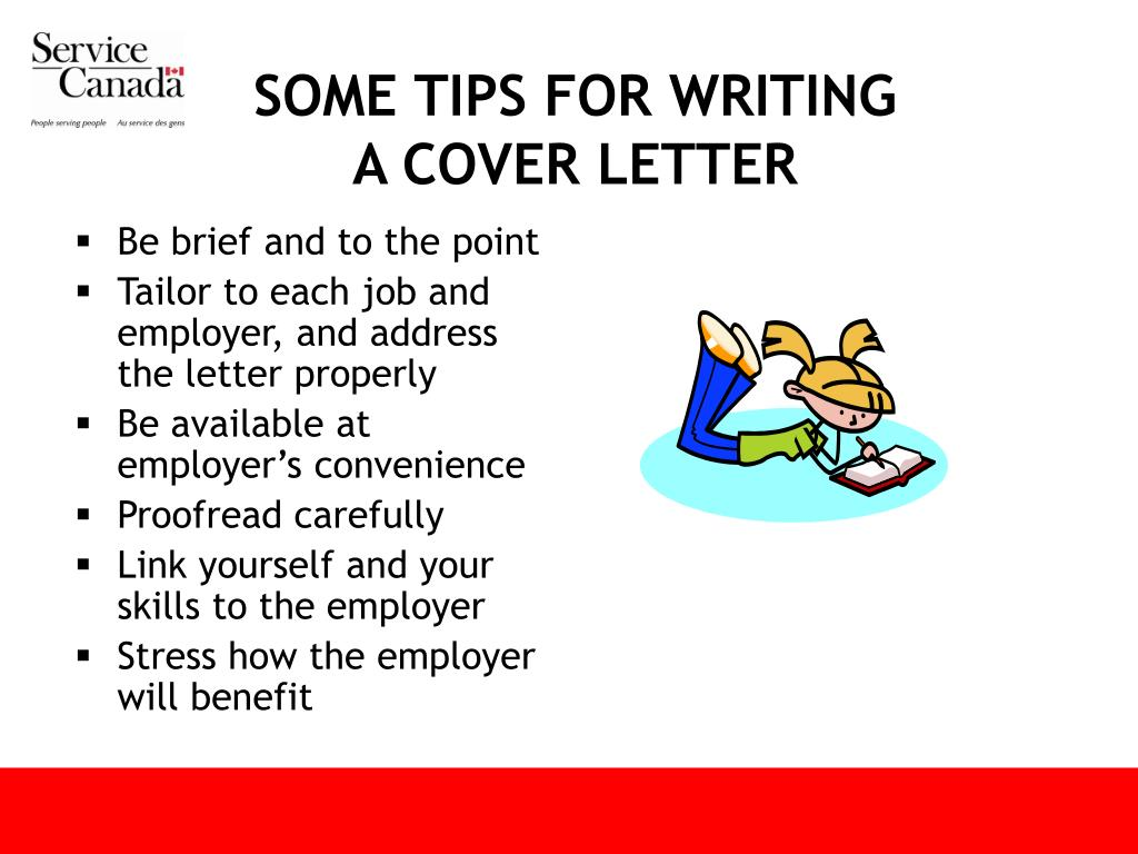 SOME TIPS FOR WRITING