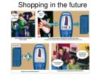 shopping in the future