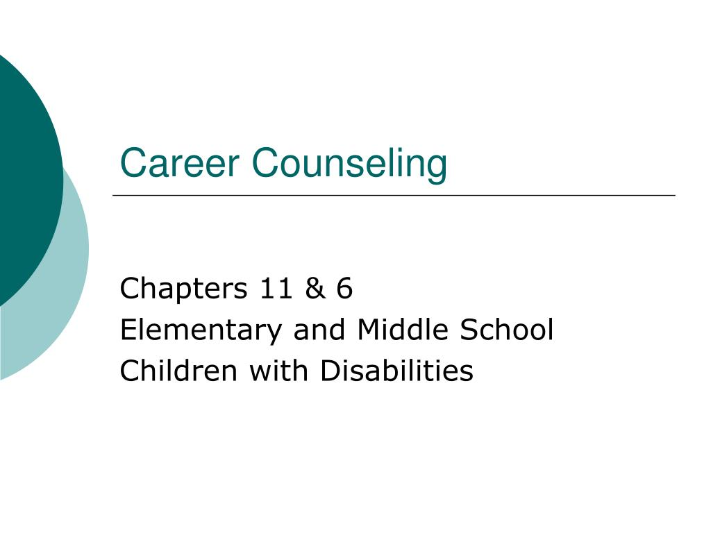 career counseling l.