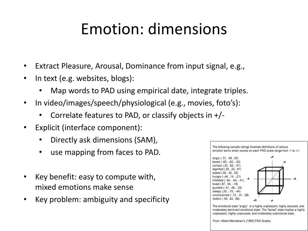 PPT - Affective computing and interface design PowerPoint