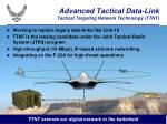 advanced tactical data link tactical targeting network technology ttnt