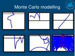 monte carlo modelling