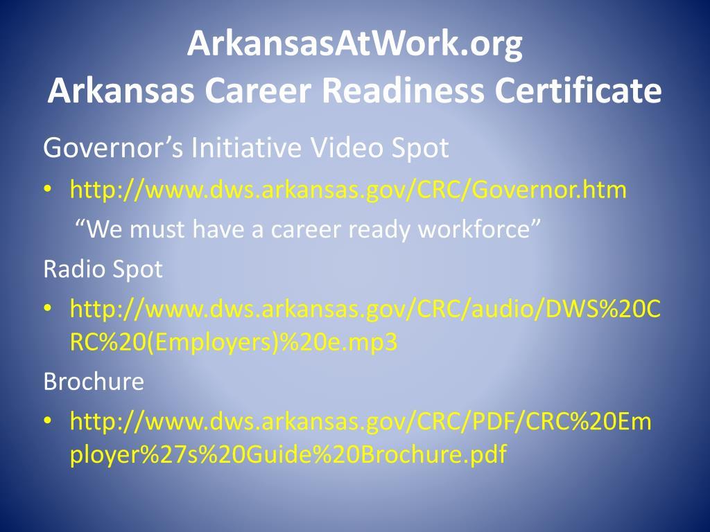 ArkansasAtWork.org