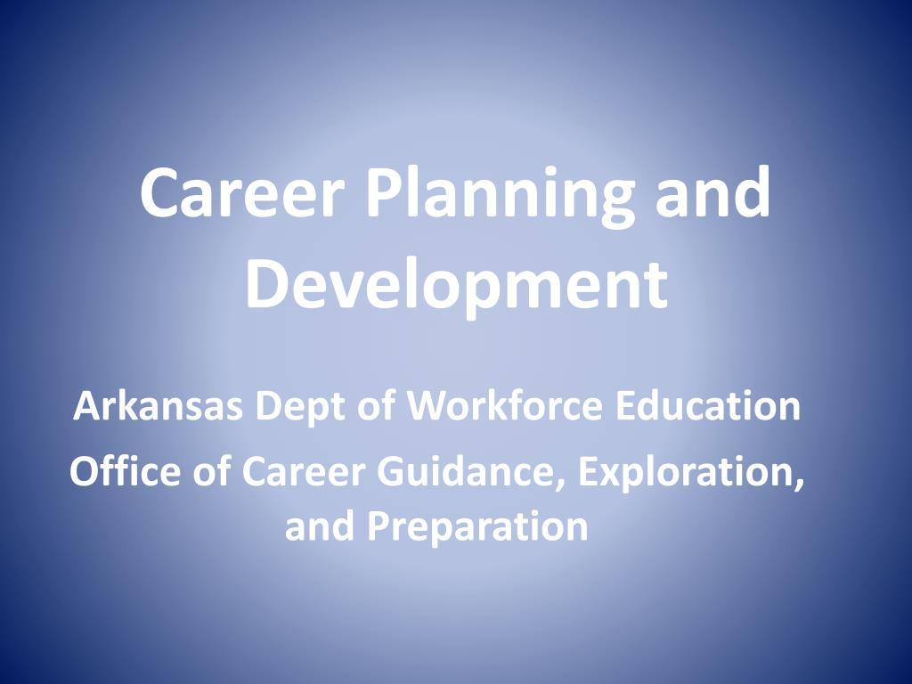 career planning and development l.