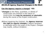 00140 30 agency required changes in the work