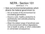 nepa section 101 nepa book p 4