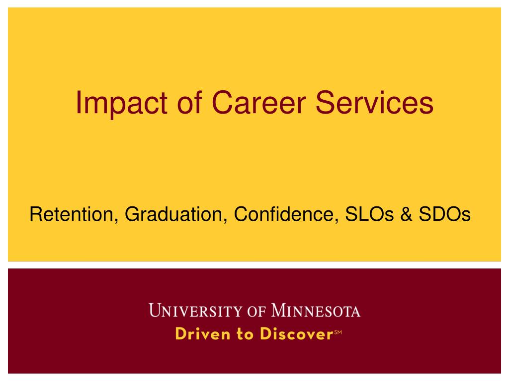 impact of career services l.