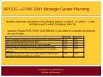 spccc cfan 3201 strategic career planning