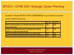 spccc cfan 3201 strategic career planning13