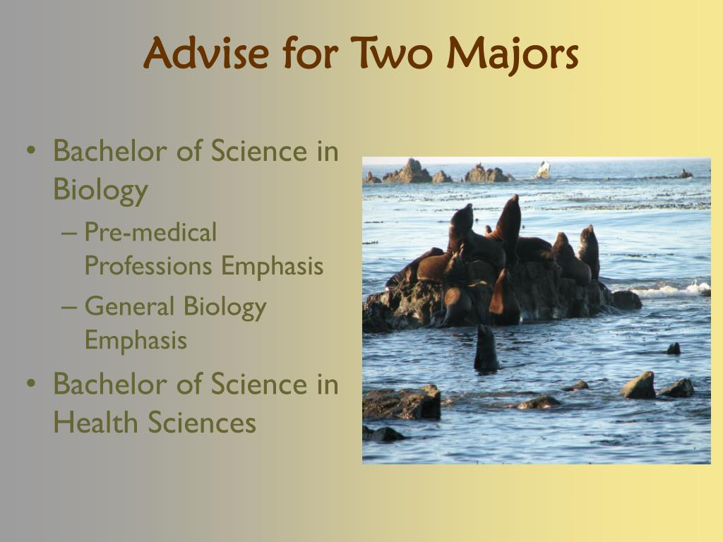 Advise for Two Majors