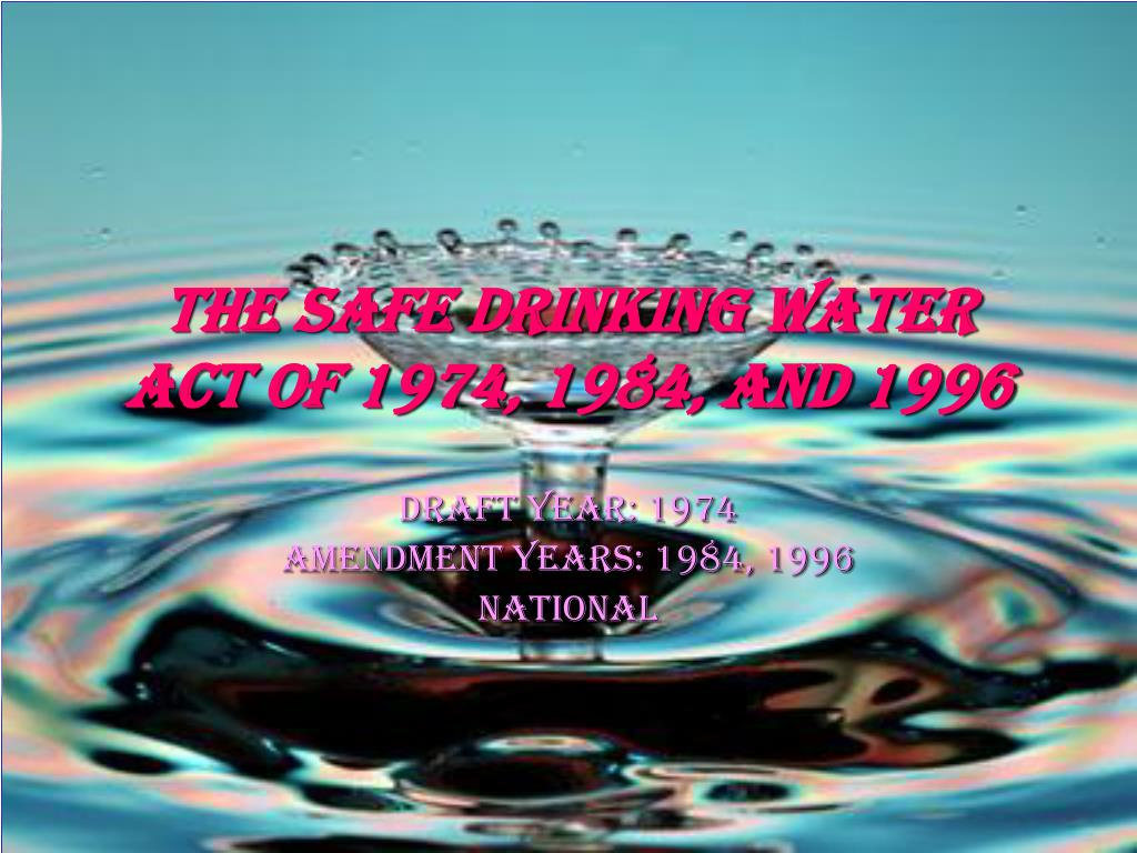 water act 1974 ppt