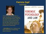 patricia zapf psychology