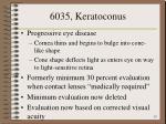 6035 keratoconus