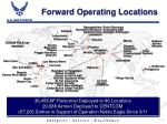 forward operating locations