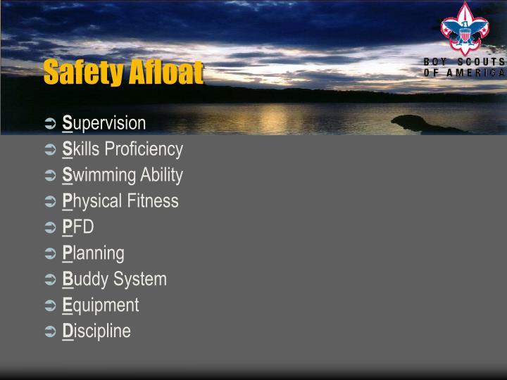 Safety afloat