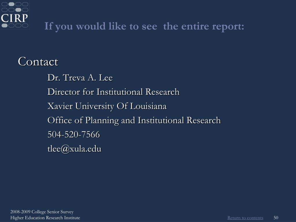 If you would like to see  the entire report: