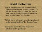 social controversy