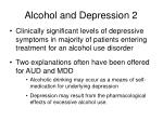 alcohol and depression 2