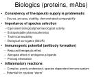 biologics proteins mabs