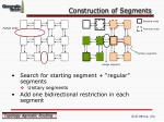 construction of segments
