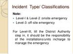 incident type classifications3
