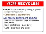 vbcps recycles