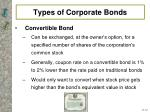 types of corporate bonds1