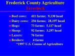 frederick county agriculture livestock
