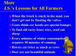 more j s s lessons for all farmers1