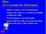more j s s lessons for all farmers2