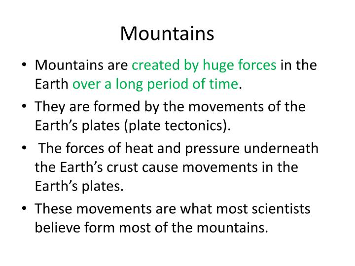 Ppt Landforms And Weathering Powerpoint Presentation Id797106