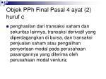objek pph final pasal 4 ayat 2 huruf c