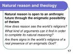 natural reason and theology