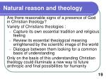 natural reason and theology1