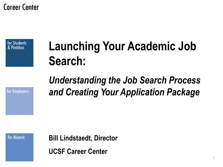 Launching Your Academic Job Search: