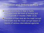 corruption and bribery in asia