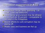 corruption experience in asia3
