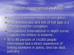 corruption experience in asia9